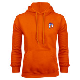 Orange Fleece Hoodie-Tertiary Mark