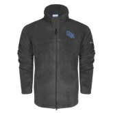 Columbia Full Zip Charcoal Fleece Jacket-Secondary Mark
