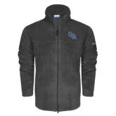 Columbia Full Zip Charcoal Fleece Jacket-Secondary Mark