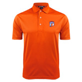 Orange Dry Mesh Polo-Tertiary Mark