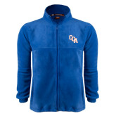 Fleece Full Zip Royal Jacket-Secondary Mark