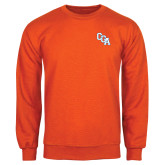Orange Fleece Crew-Secondary Mark