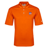Under Armour Orange Performance Polo-Tertiary Mark