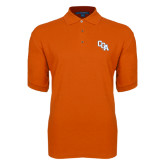 Orange Easycare Pique Polo-Secondary Mark