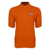 Orange Easycare Pique Polo-Tertiary Mark
