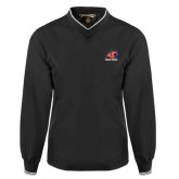 Black Executive Windshirt-Primary Logo