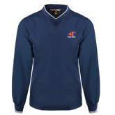 Navy Executive Windshirt-Primary Logo
