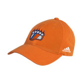Adidas Orange Slouch Unstructured Low Profile Hat-Tertiary Mark