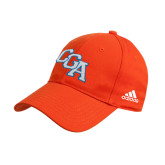 Adidas Orange Structured Adjustable Hat-Secondary Mark