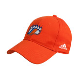Adidas Orange Structured Adjustable Hat-Tertiary Mark