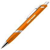 Milo Orange Pen w/Blue Ink-Coast Guard
