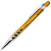 Veneno Metallic Orange Pen w/Blue Ink-Coast Guard Engraved
