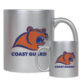 Full Color Silver Metallic Mug 11oz-Primary Logo