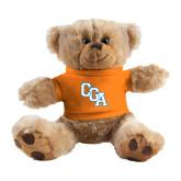 Plush Big Paw 8 1/2 inch Brown Bear w/Orange Shirt-Secondary Logo