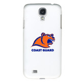 White Samsung Galaxy S4 Cover-Primary Logo