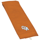 Orange Golf Towel-Secondary Mark