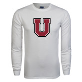 White Long Sleeve T Shirt-U