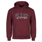 Maroon Fleece Hoodie-Alumni