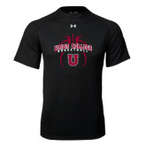 Under Armour Black Tech Tee-Graphics in Basketball