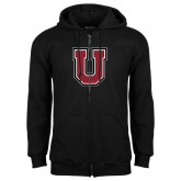 Black Fleece Full Zip Hoodie-U