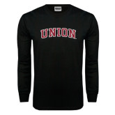 Black Long Sleeve TShirt-Arched Union
