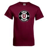 Maroon T Shirt-Official Logo