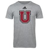 Adidas Sport Grey Logo T Shirt-U