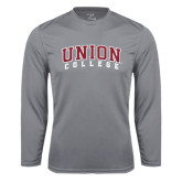 Syntrel Performance Steel Longsleeve Shirt-Arched Union College