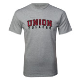 Grey T Shirt-Arched Union College