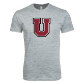 Next Level SoftStyle Heather Grey T Shirt-U