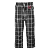 Black/Grey Flannel Pajama Pant-U
