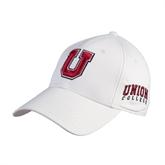 Union White Heavyweight Twill Pro Style Hat-U
