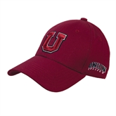 Maroon Heavyweight Twill Pro Style Hat-U