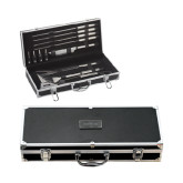 Grill Master Set-Union College Flat Engraved