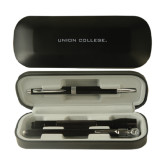 Black Roadster Gift Set-Union College Flat Engraved