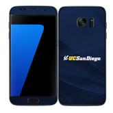 Samsung Galaxy S7 Edge Skin-UC San Diego Primary Mark