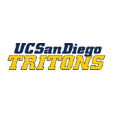 Medium Decal-UC San Diego Tritons Mark, 8 inches wide
