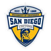 Large Decal-UC San Diego Crest, 12 inches tall