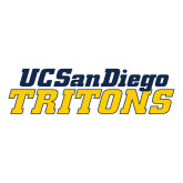 Large Decal-UC San Diego Tritons Mark, 12 inches wide