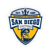 Small Decal-UC San Diego Crest, 6 inches tall