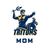 Mom Decal-Official Logo, 6 inches tall