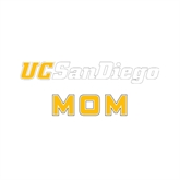 Mom Decal-UC San Diego, 6 inches wide