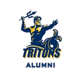 Alumni Decal-Official Logo, 6 inches tall