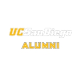 Alumni Decal-UC San Diego, 6 inches wide