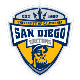 Extra Large Decal-UC San Diego Crest, 18 inches tall