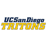 Extra Large Decal-UC San Diego Tritons Mark, 18 inches tall