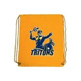 Gold Drawstring Backpack-Official Logo