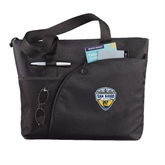 Excel Black Sport Utility Tote-UC San Diego Crest