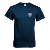 Navy T Shirt-UC San Diego Crest