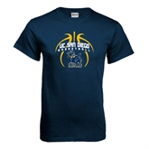 Navy T Shirt-Graphics in Ball